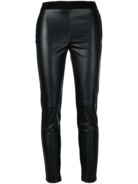 leggings cropped women spandex black pants