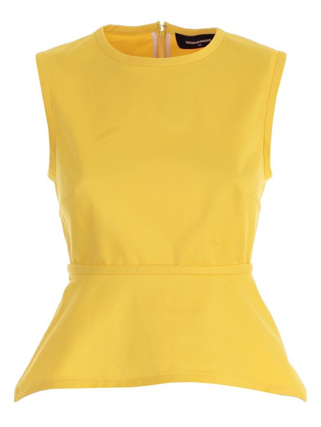 Dsquared2 top yellow