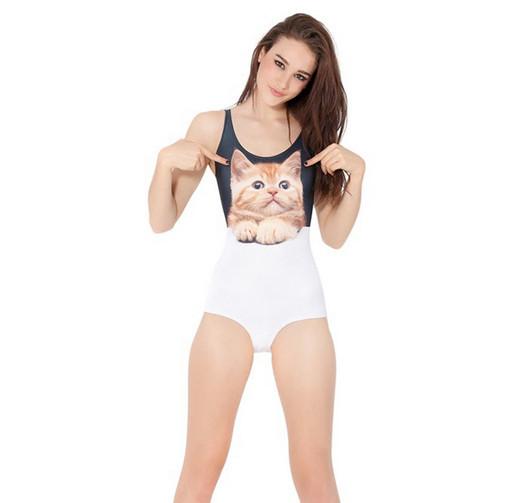"""""""kitty kat"""" cat print swimsuit – glamzelle"""
