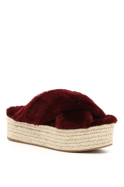 sheepskin sandals shoes