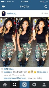 pants,nlyss,tay,dope,trill,baddies,bad,camo pants,camouflage,style,trill girls,shoes