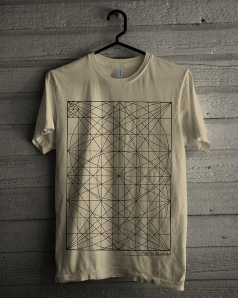 cream shirt cream cream top t-shirt cream tshirt geometric graphic tee graphic t-shirt geometric design