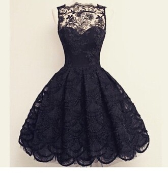 dress high neck lace lace dress black lace black dress high neck dress cute dress pretty hair accessory cute black black lace dress prom dress cocktail dress date dress party dress evening dress black mini dress black sleeveless dress
