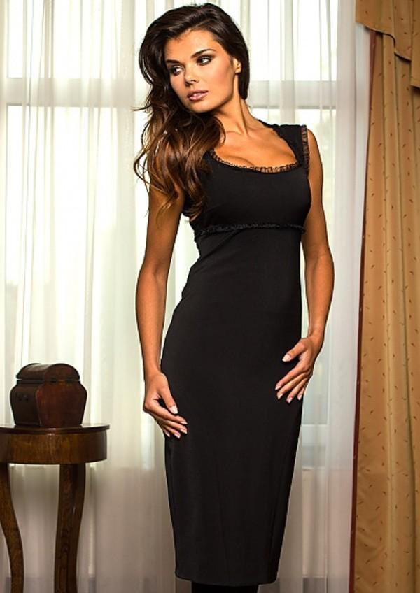 Dress: little black dress, black, evening dress, sexy evening ...