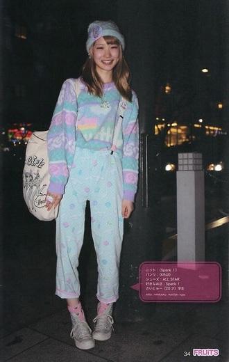 sweater kawaii style fashion pastel harajuku fairy kei vintage