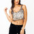 GJ | Show Your Sparkle Cropped Top $30.60 in SILVERGOLD - Crop Tops | GoJane.com