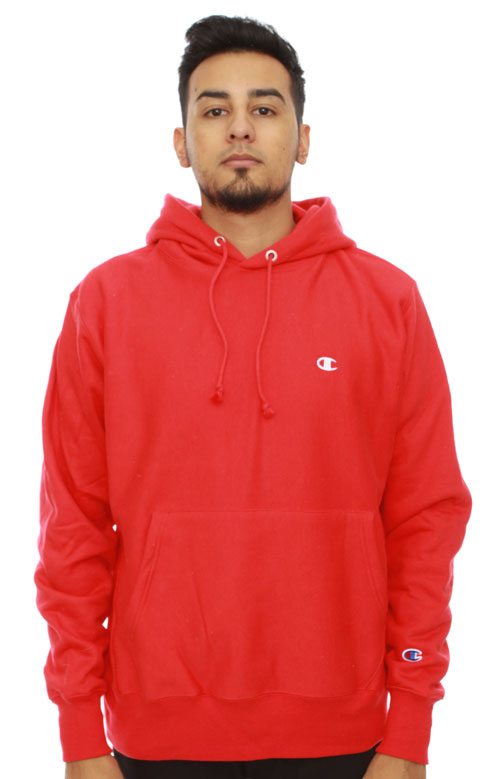 Weave Pullover Scarlet Champion LifeReverse Moose Limited Team Hoodie Red tQCdshrx
