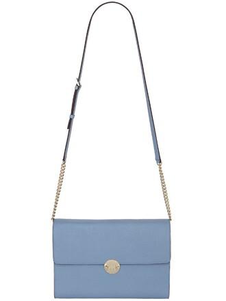 bag shoulder bag light blue light blue