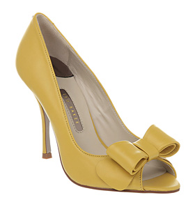Shoes - High Heels for her - Ted Baker - CAMILLA BOW PEEP TOE