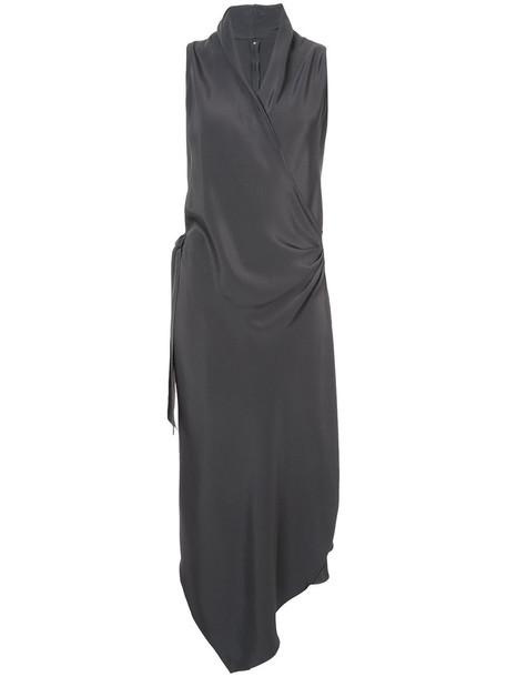 Peter Cohen dress women silk grey