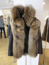 jacket,coat,fur,fur jacket,faux fur jacket,fur coat,faux fur,black,leather,sexy,winter coat,fur collar