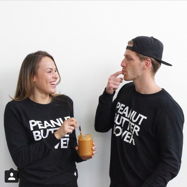 sweater peanut butter lover peanut butter