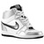 Nike Force Sky High - Women's - Basketball - Shoes - White/Metallic Silver/White/Black