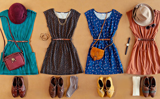 dress shoes bag hat jewelry watch necklace socks belt vintage cotton dress cute blue dress summer dress brouges side bag sunglasses brown peach blue pattern belted dress tumblr abercrombie & fitch hollister short hot vintage dress skater dress