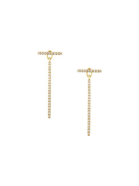 Ileana Makri women earrings gold yellow orange jewels