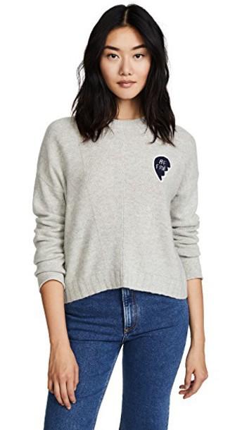 sweater grey heather grey