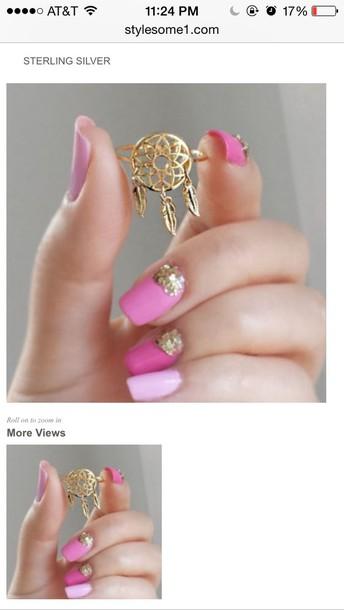 jewels dreamcatcher ring