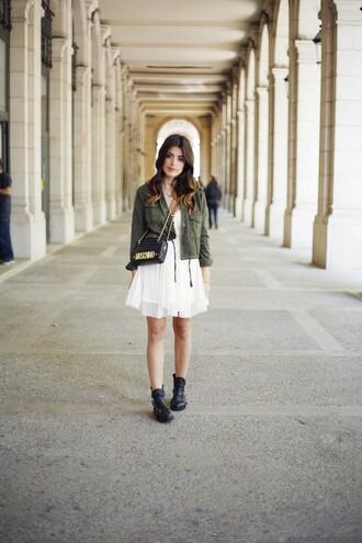dulceida dress jacket bag shoes