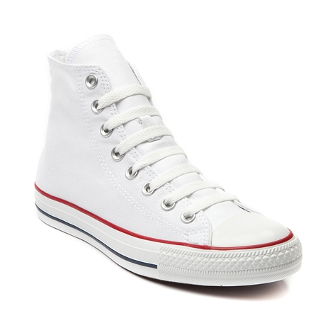 Converse all star hi sneaker, optical white, at journeys shoes