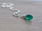 jewels,may birthstone,emerald green,necklace,birthstone ring