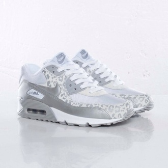 shoes air max leopard print white white leopard nike air max 90 snow leopard nike air max 90 nike nike air nike sneakers crop tops tank top high top sneakers top t-shirt jeans skinny pants leggings