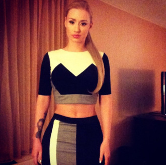 top black and white top skirt black and white skirt double grey white black black and white iggy azalea white top black top grey top white shirt black shirt grey shirt white skirt black skirt grey skirt