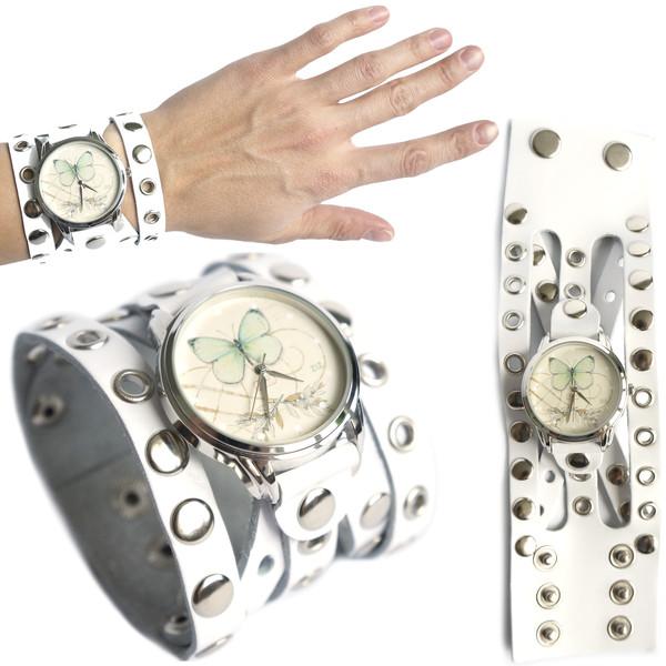 jewels butterfly green white watch watch ziziztime ziz watch