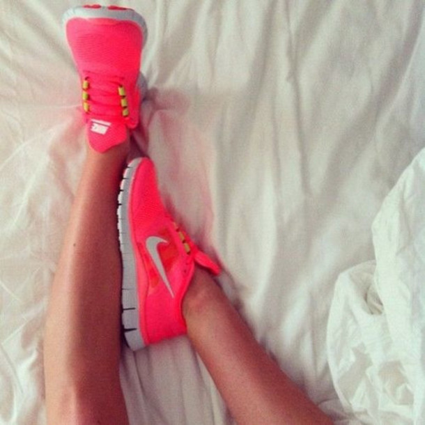 Sport Shoes Nike Pink Shoes Nike Pink Orange Green