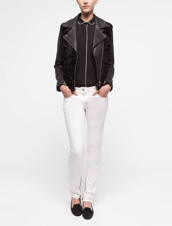 Veste Vaillante Noir - Vestes Sandro - E-Boutique Officielle SANDRO / Collection Automne-Hiver 2012 SANDRO