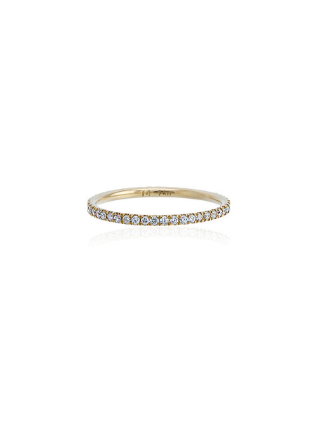 Ileana Makri women ring gold grey metallic jewels