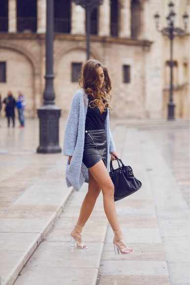 cardigan knitted cardigan coat fluffy cardigan style fashion trend cute, white, cardigan, fluffy, blue, jeans spring trends 2014 dress kenza,outfit,vogue,victim shoes
