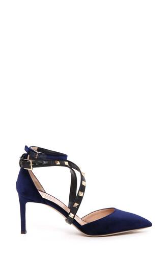 pumps velvet shoes