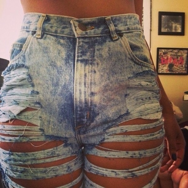 High Waisted Jeans Cut Up - Xtellar Jeans