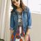 Kelsey vintage denim jacket · fashion struck · online store powered by storenvy