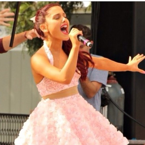 rose two-piece 3d ariana grande