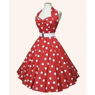 dress retro vintage hipster retro dress short dress cute a-line dress skater skirt skater dress