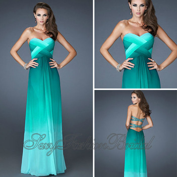 Aliexpress.com : Buy Robe De Soiree Vestidos De Gala Sexy Sweetheart A line Floor length Chiffon Long Open Back Evening Party Dress Gown from Reliable dress grey suppliers on sexyfashionbridal