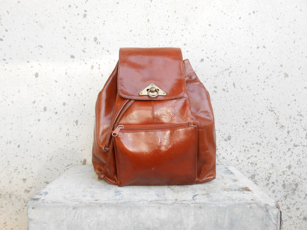 bag backpack brown leather backpack backpack leather backpack vintage leather backpack vintage