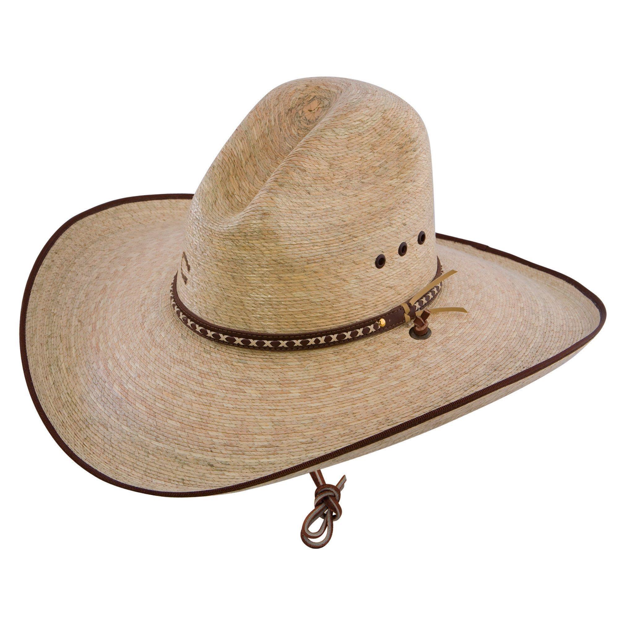 Charlie 1 Horse Bandito B Palm Straw Western Hat Item CSBNDTB9550