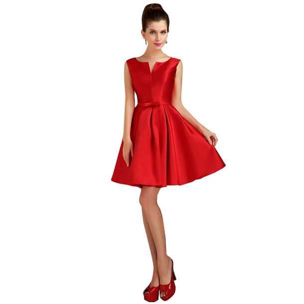 Dress Red Cloth Sexy Prom Evening Gradustion Dresses Party Birthday Wedding