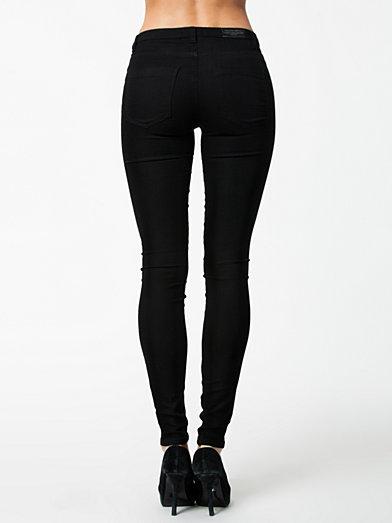 Liv Jeggings - Sally&Circle - Antracit - Jeans - Kläder - Kvinna - Nelly.com