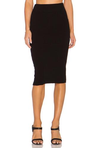 skirt skinny skirt black