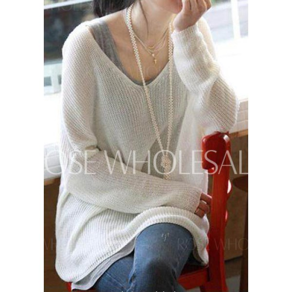 Fitting dolman sleeve sweater