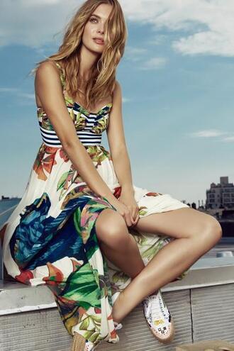 dress 2017 summer collection agua bendita print designer maxi dresses bikiniluxe