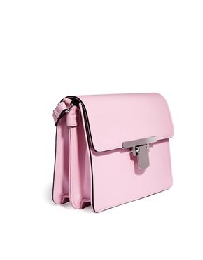 ASOS | ASOS Flat Lock Shoulder Bag at ASOS