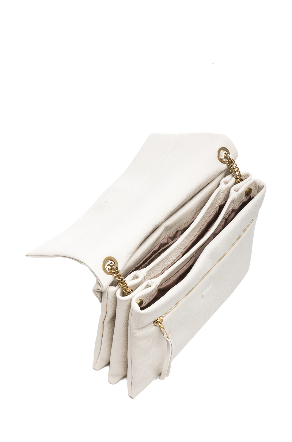 Lanvin | Medium Sugar Bag in White