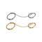 Linked rings set