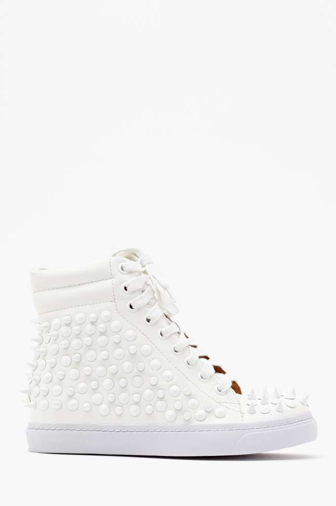 Jeffrey Campbell Alva Spike Sneaker  in  Shoes Sneakers at Nasty Gal