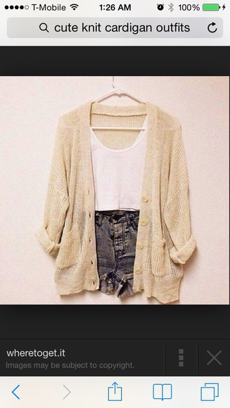 cute cardigan fashion knitted cardigan knit sweaters hipster