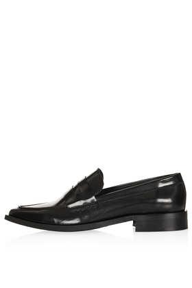 PRAGUE Shine Loafers - Flats  - Shoes  - Topshop